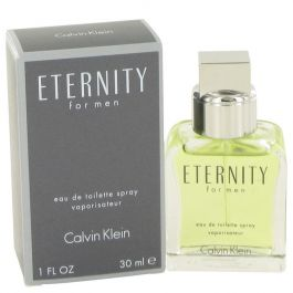 ETERNITY par Calvin Klein Eau De Toilette Spray 1 oz (Homme) 30ml