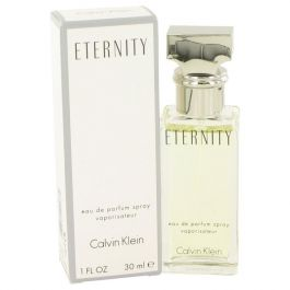 Eternity par Calvin Klein Eau de Parfum Spray 1 oz (Femme) 30ml