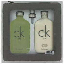 CK ONE par Calvin Klein Gift Set -- 6.7 oz Eau De Toilette Spray + 6.7 oz Body Lotion (Homme) 195ml