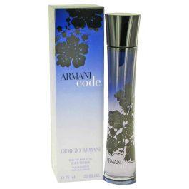 Armani Code par GIORGIO ARMANI Eau de Parfum Spray 2.5 oz (Femme) 75ml