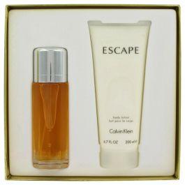 ESCAPE par Calvin Klein Gift Set -- 3.4 oz Eau De Parfum Spray + 6.7 oz Body Lotion (Femme) 100ml