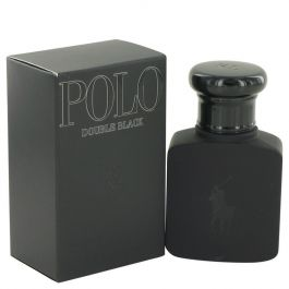 Polo Double Black par Ralph Lauren Eau De Toilette Spray 1.36 oz (Homme) 40ml