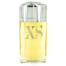 Black XS par Paco Rabanne Eau De Toilette Spray (Tester) 3.4 oz (Homme) 100ml
