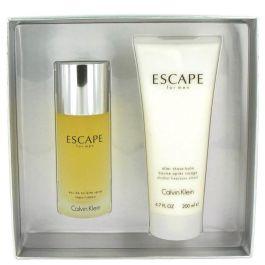 ESCAPE by Calvin Klein Gift Set -- 3.4 oz Eau De Toilette Spray + 6.7 oz After Shave Balm (Men) 100ml
