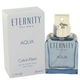 Eternity Aqua by Calvin Klein Eau De Toilette Spray 1.7 oz (Men) 50ml