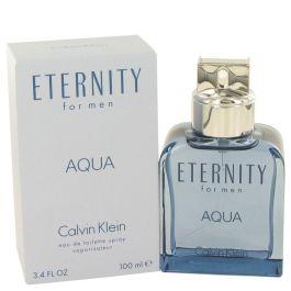 Eternity Aqua par Calvin Klein Eau De Toilette Spray 3.4 oz (Homme) 100ml