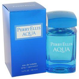 Perry Ellis Aqua par Perry Ellis Eau De Toilette Spray 3.4 oz (Homme)