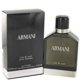 Armani Eau De Nuit par Giorgio Armani Eau De Toilette Spray 3.4 oz (Homme)