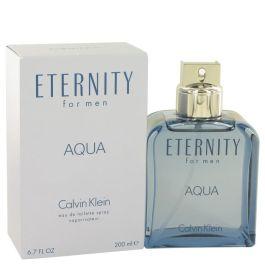 Eternity Aqua by Calvin Klein Eau De Toilette Spray 6.7 oz (Men) 195ml