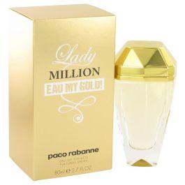 Lady Million Eau My Gold par Paco Rabanne Eau De Toilette Spray 2.7 oz (Femme) 80ml