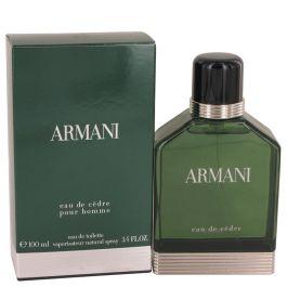 Armani Eau De Cedre par Giorgio Armani Eau De Toilette Spray 3.4 oz (Homme)