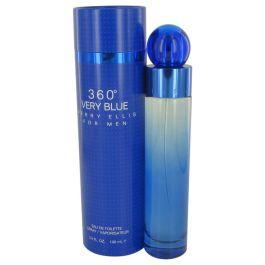 Perry Ellis 360 Very Blue par Perry Ellis Eau De Toilette Spray 3.4 oz (Homme)