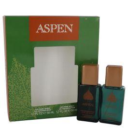 ASPEN by Coty Gift Set -- Two 1.7 oz Cologne Sprays (Men)