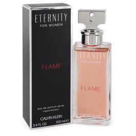 Eternity Flame par Calvin Klein Eau De Parfum Spray 3.4 oz (Femme)
