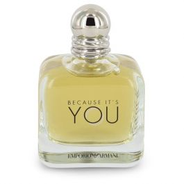 Because It's You par Emporio Armani Eau De Parfum Spray (Tester) 3.4 oz (Women)