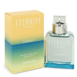 Eternity Summer par Calvin Klein Eau De Toilette Spray (2019) 3.3 oz (Men)