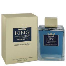 King of Seduction Absolute par Antonio Banderas Eau De Toilette Spray 6.7 oz (Men)