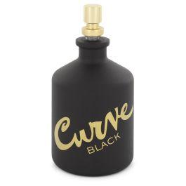 Curve Black par Liz Claiborne Eau De Toilette Spray (Tester) 4.2 oz (Men)