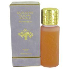 QUELQUES FLEURS Royale par Houbigant Eau De Parfum Spray 3.4 oz (Femme)