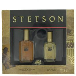STETSON par Coty Gift Set -- 1.5 oz Cologne + .75 oz After Shave (Homme) 45ml