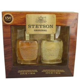 STETSON par Coty Gift Set -- 2 oz Collector's Edition Cologne + 2 oz Collector's Edition After Shave (Homme)