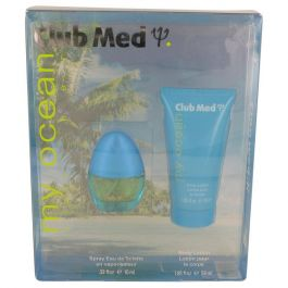 Club Med My Ocean par Coty Gift Set -- .33 oz Mini EDT Spray + 1.85 oz Body Lotion (Femme)