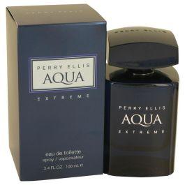 Perry Ellis Aqua Extreme par Perry Ellis Gift Set -- 3.4 oz Eau De Toilette Spray + .25 oz Mini EDT Spray + 6.8 oz Body Spray + 1.7 oz Shower Gel (Homme)