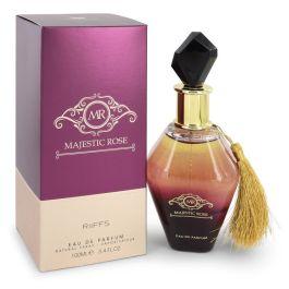 Majestic Rose par Riiffs Eau De Parfum Spray (Unisex) 3.4 oz (Femme)