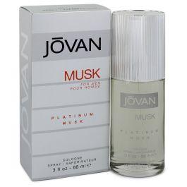 Jovan Platinum Musk par Jovan Cologne Spray 3 oz (Men)